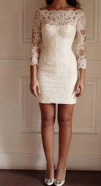 Vestidos De Novia Para Una Boda Civil Bodas Vestidos De Novia Vestidos Boda Civil Matrimonio Civil Vestidos