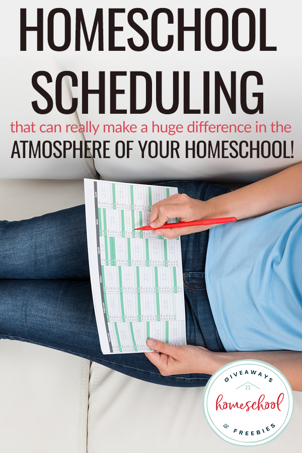 GameChanging Way to Schedule Your Homeschool (With images