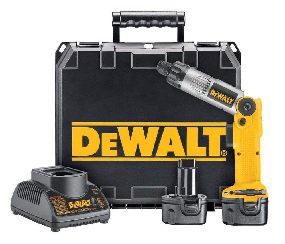Dewalt Dw920k 2 1 4 Inch 7 2 Volt Cordless Two Position Screwdriver Kit Dewalt