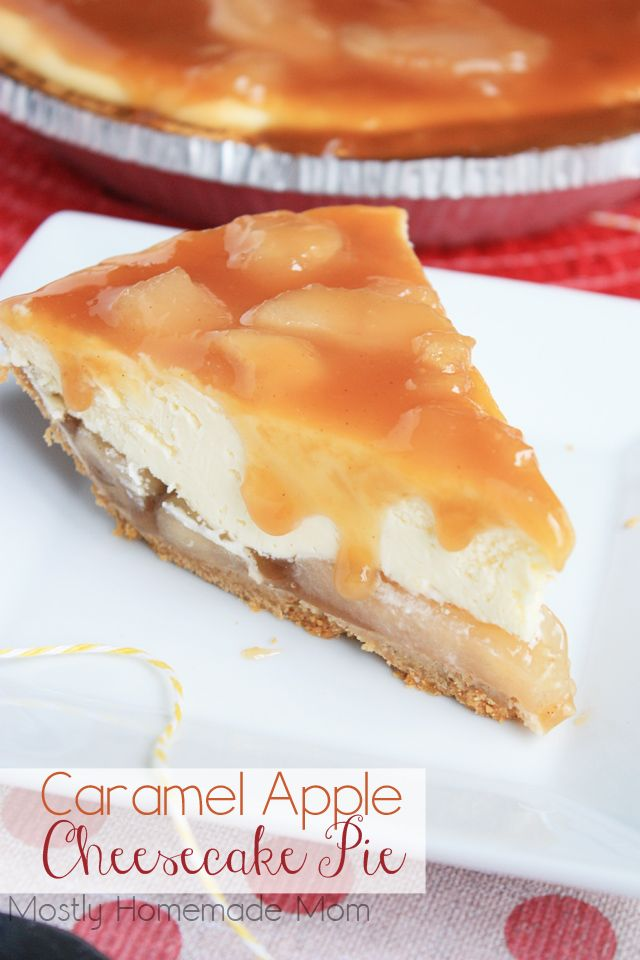 apple cream cheese pie graham cracker crust