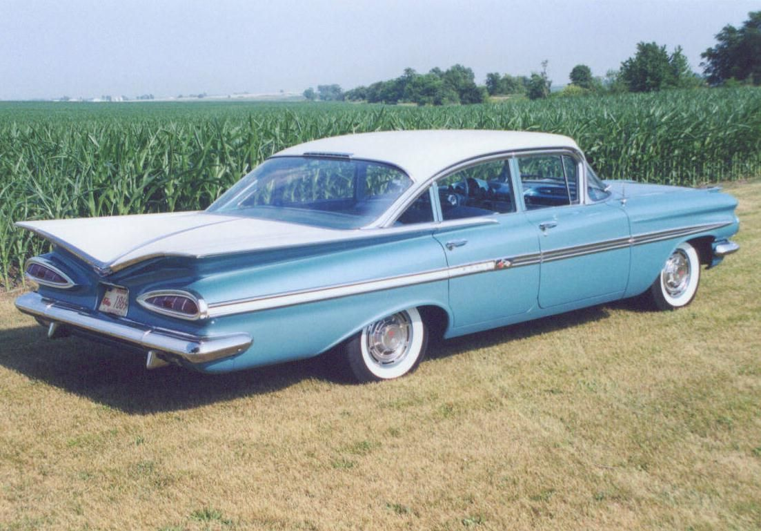 1959 Chevrolet Impala Four Door Sedan (With images