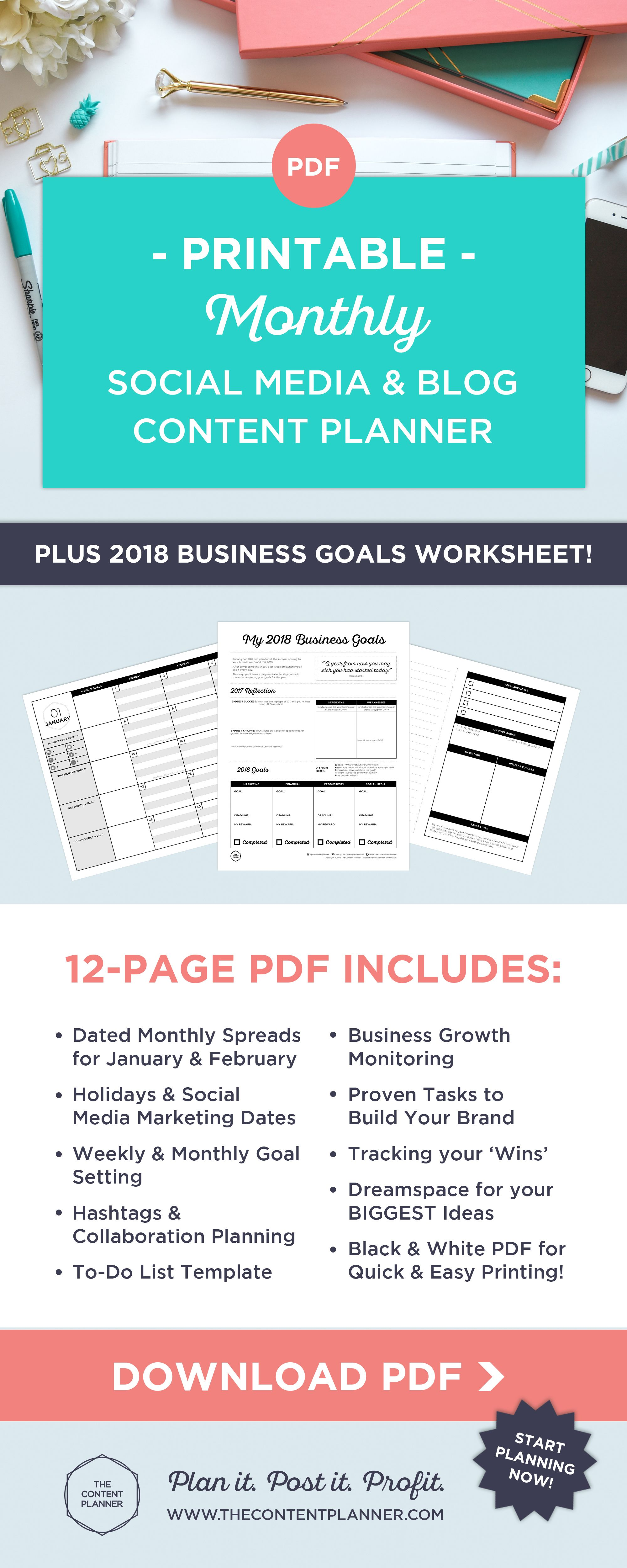 Plan Your Day To Day Posts To Grow Your U00 Brand
