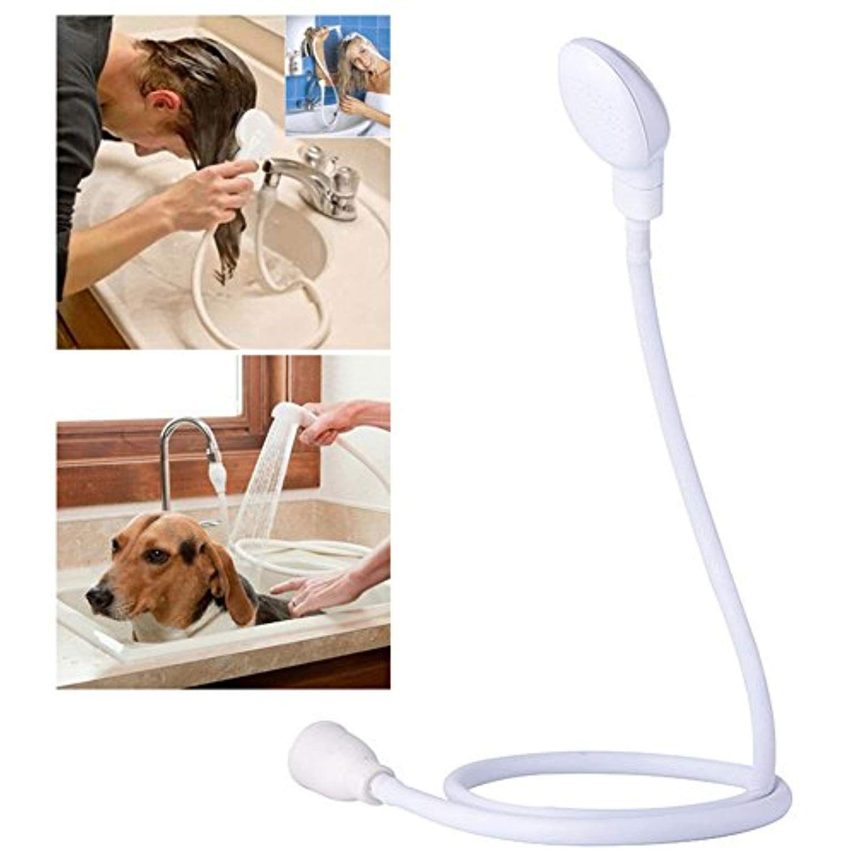 Awtang Dog Shower Spray Single Tap Pet Bathing Handheld Shower