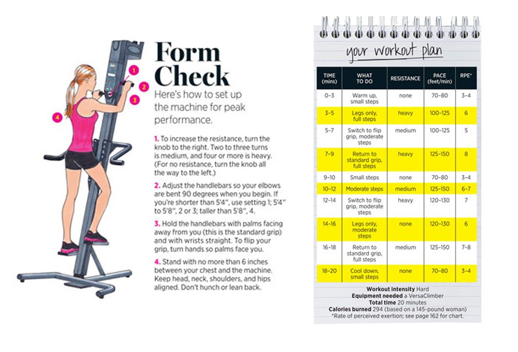 beed5fa68ba Check your form and try this VersaClimber workout.