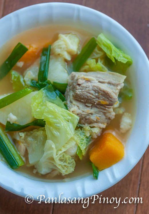 Pork Nilaga With Kalabasa Recipe Pork Nilaga Filipino