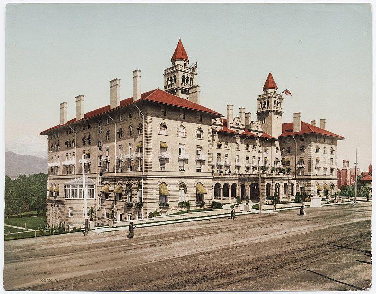 Antlers Hotel Colorado Springs C 1900