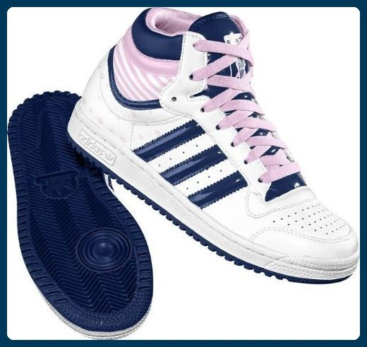 Adidas TOP TEN Hi Sleek W G64573 Sneaker Leder Damen Gold