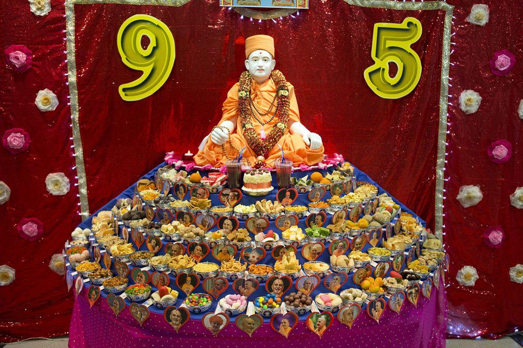 Pramukh Swami Maharaj 95th Birthday Celebrations, West