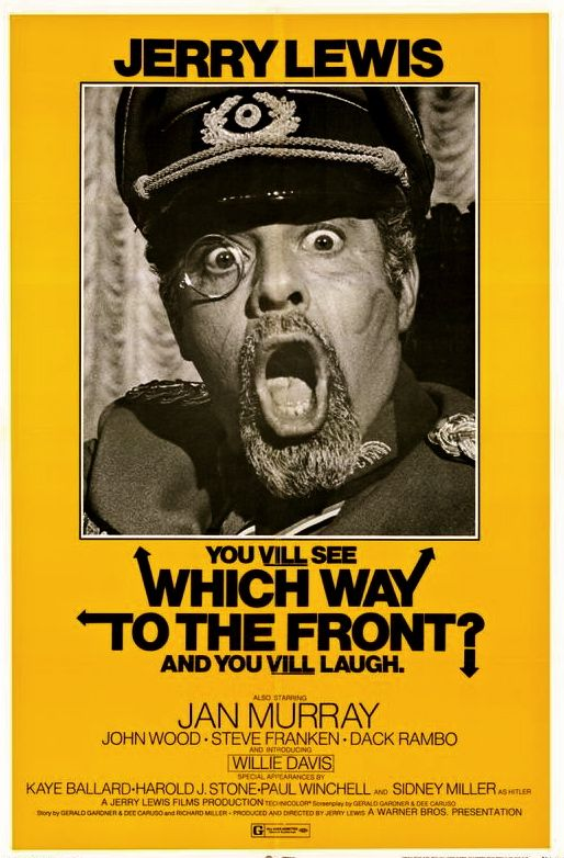 Which Way to the Front? is a 1970 film starring Jerry Lewis. It would be Lewis' last released film for eleven years, until 1981's Hardly Working. The unreleased The Day the Clown Cried was filmed in the years between. Which Way to the Front? was released in July 1970 by Warner Bros.