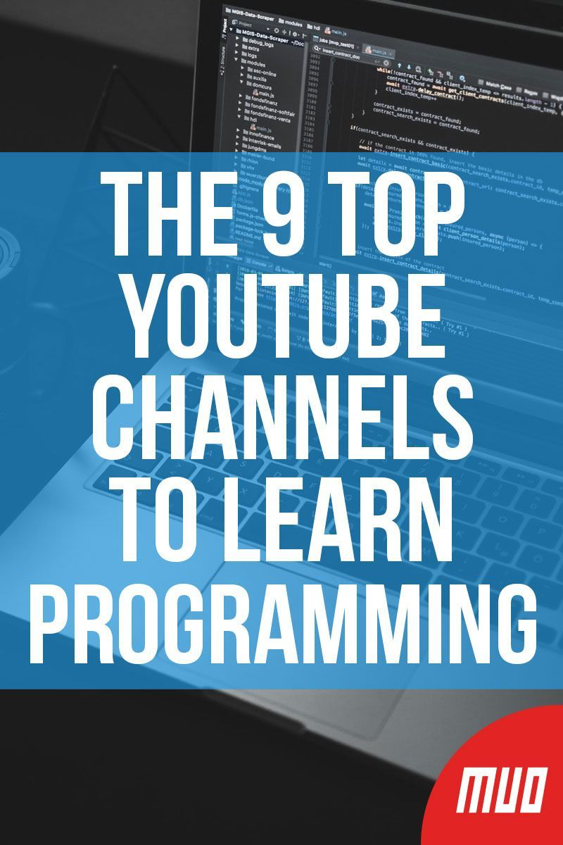 The 9 Best Code-Along YouTube Channels to Learn Programming | Learn  programming, Coding tutorials, Java programming tutorials