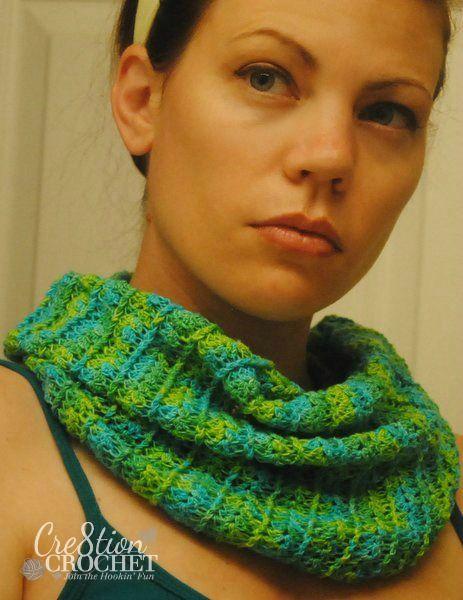 Sea Breeze Summer Cowl | crochet | Pinterest