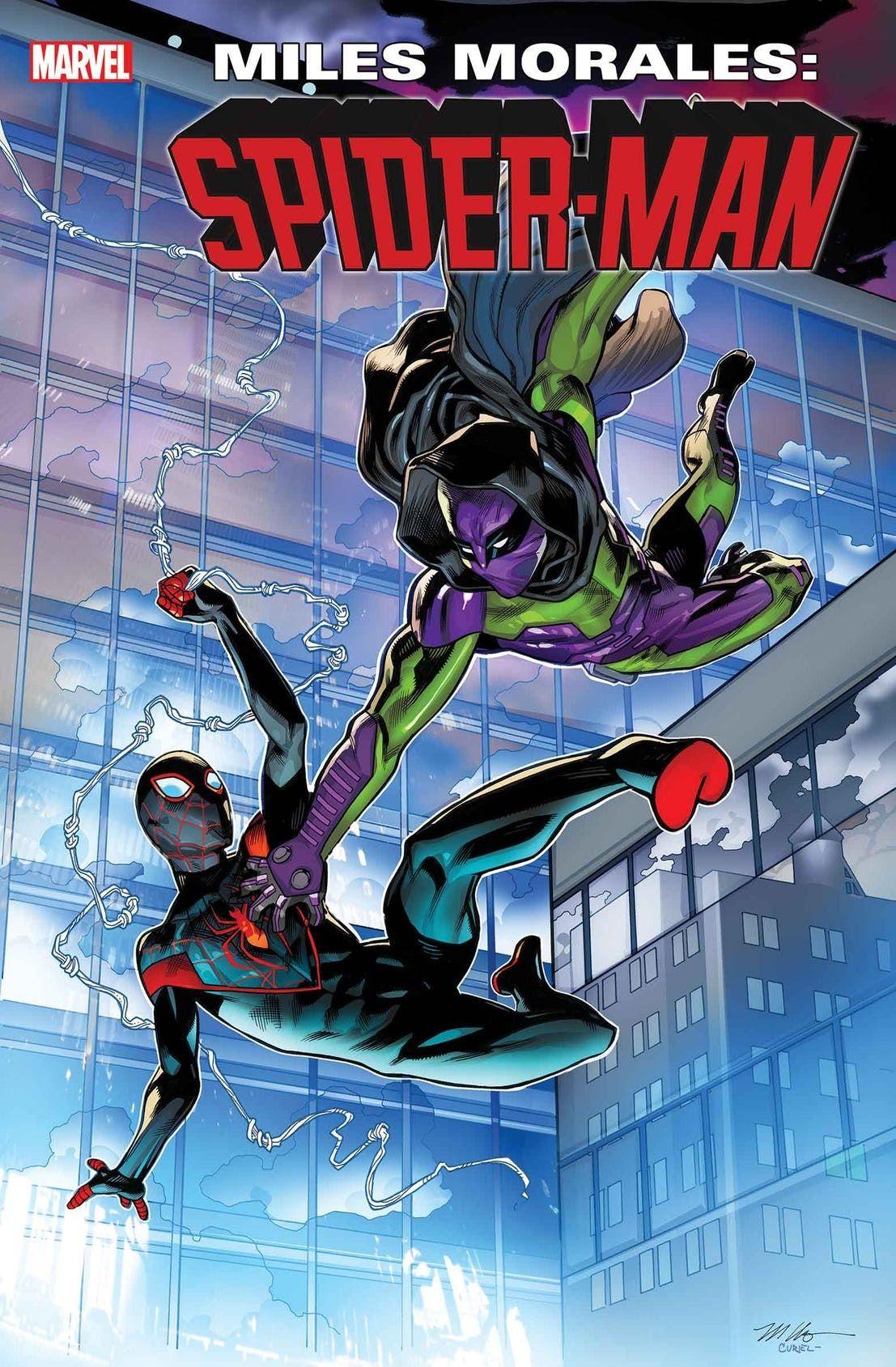 Miles morales spiderman 11 by mike hawthorne marvel