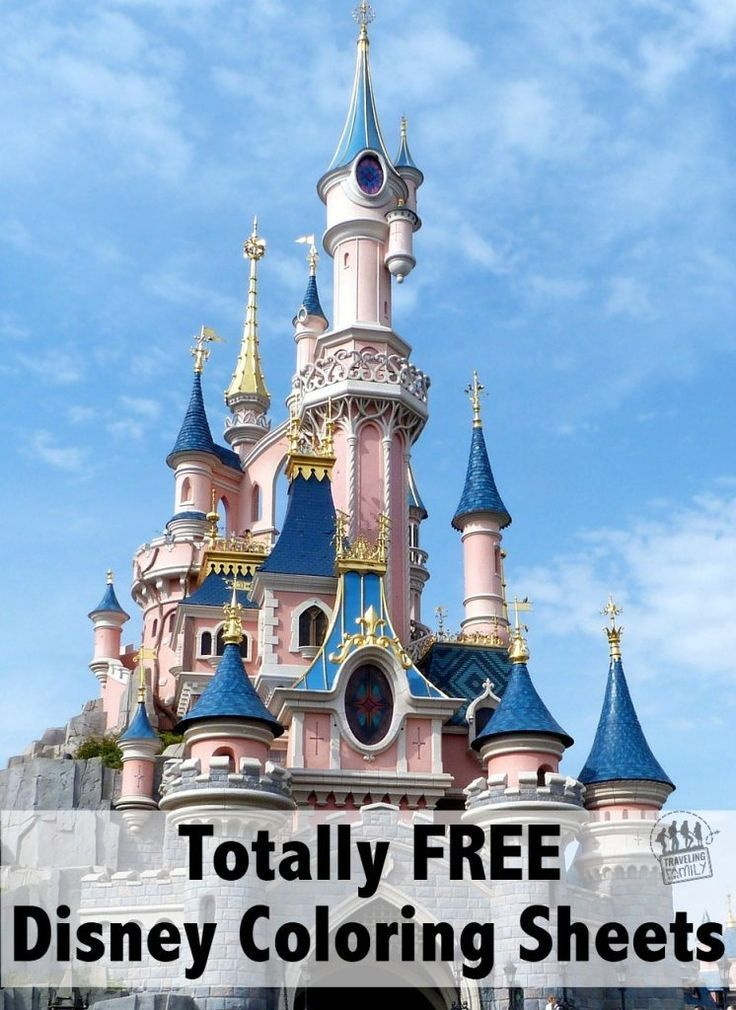 45++ Disneyland paris coloring pages info