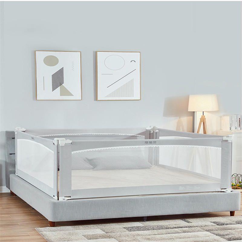 ZEHNHASE Barandilla de La Cama para beb/és doble Barrera de cama para ni/ños Colch/ón doble 200cm tama/ño completo tama/ño queen y king DE Stock
