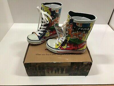 Sponsored Ebay Roma Boots Kids Ilona Lace Up Rain Boots