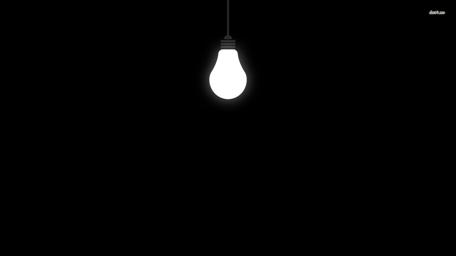 13414 Light Bulb 1920 1080 Vector Wallpaper Wallpapers In 2019