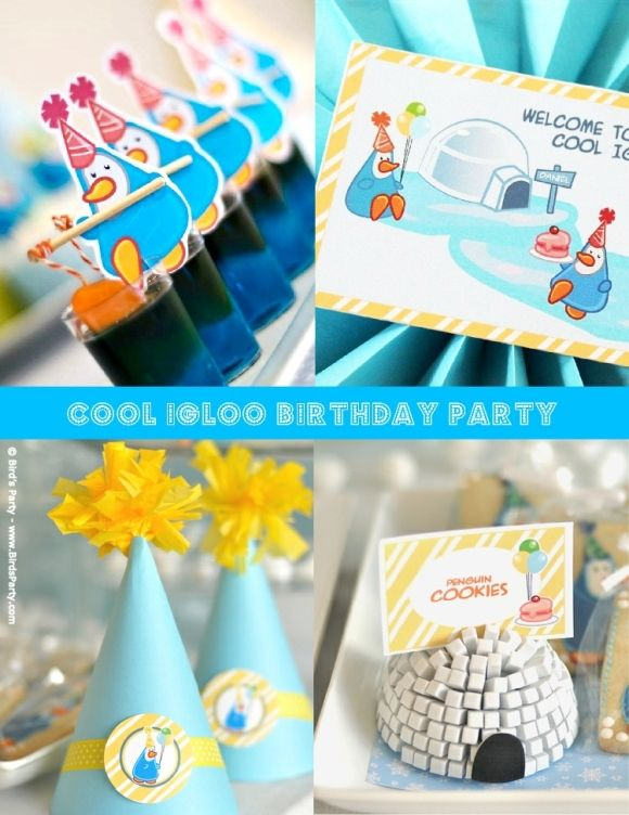 2 Year Old Birthday Party Ideas In The Winter Printable