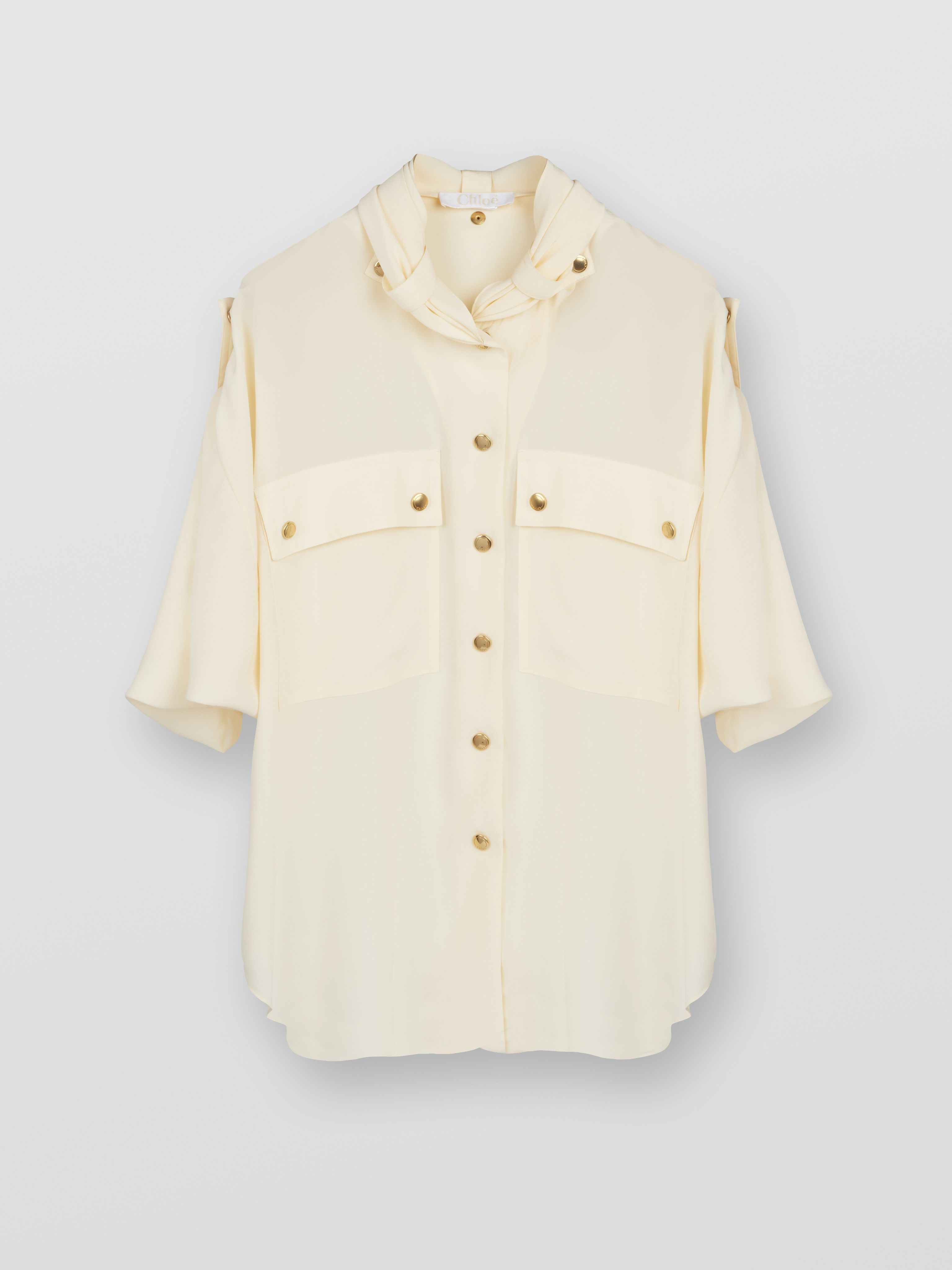 0cfbb230 Chest Pocket Blouse   Ready To Wear   Chloé United States ...