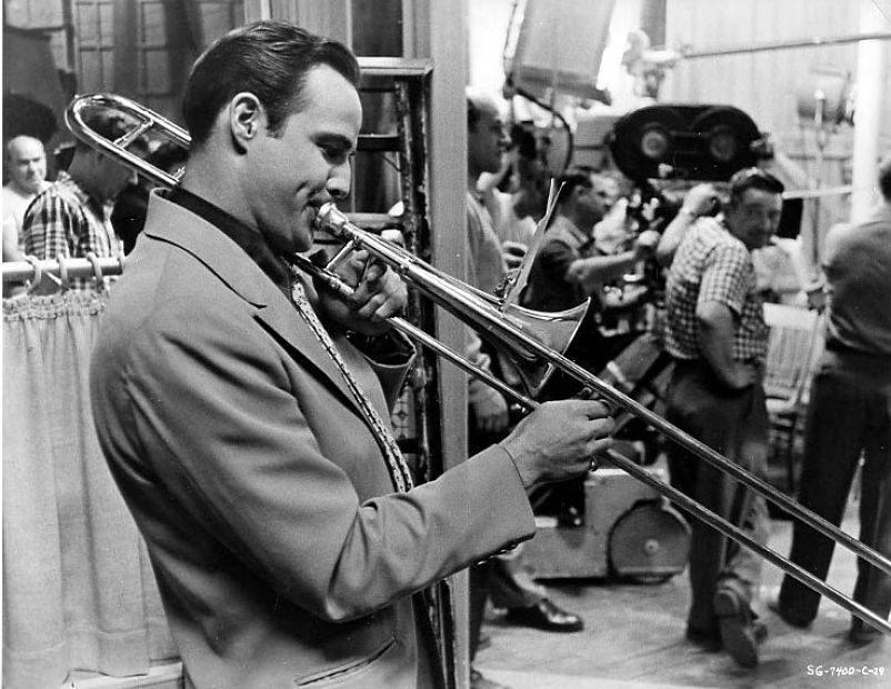 """Marlon Brando while filming """"Guys and Dolls"""""""