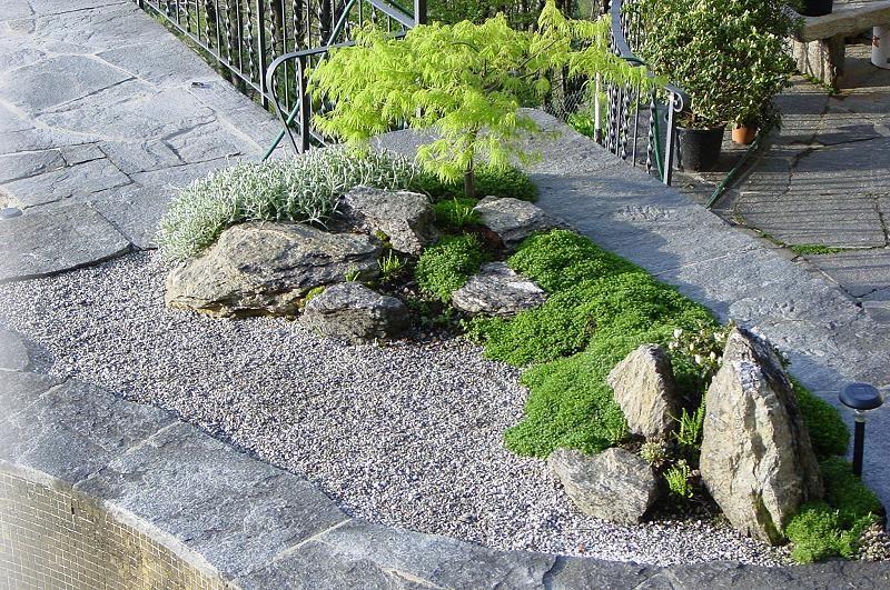 neuer Zengarten im Tessin Garten Pinterest - garten gestalten vorher nachher
