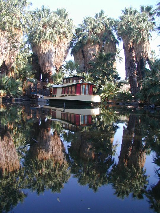 Gorgeous view of the pond at the 29 Palms Inn | Well