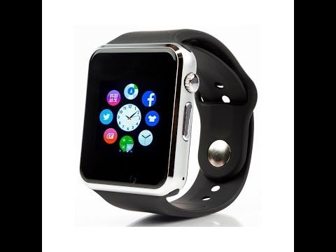 967edefd736 Bluetooth Smartwatch A1 for iPhone Android обзор review - YouTube ...