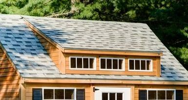 Low Pitch Triple Window Shed Dormer Home Improvements In