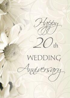 Happy 20th Wedding Anniversary Wedding Congratulations Card 25th Wedding Anniversary Invitations Wedding Anniversary Invitations