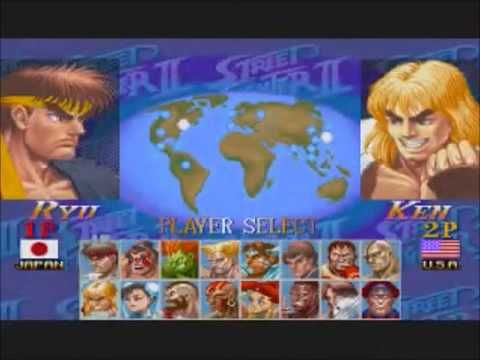 Hyper Street Fighter Ii Player Select Theme My Personal