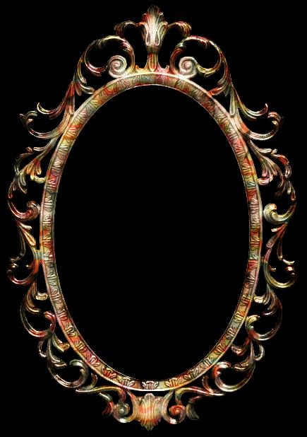 Zoom dise o y fotografia espejo vintage espejos del - Marcos espejos antiguos ...