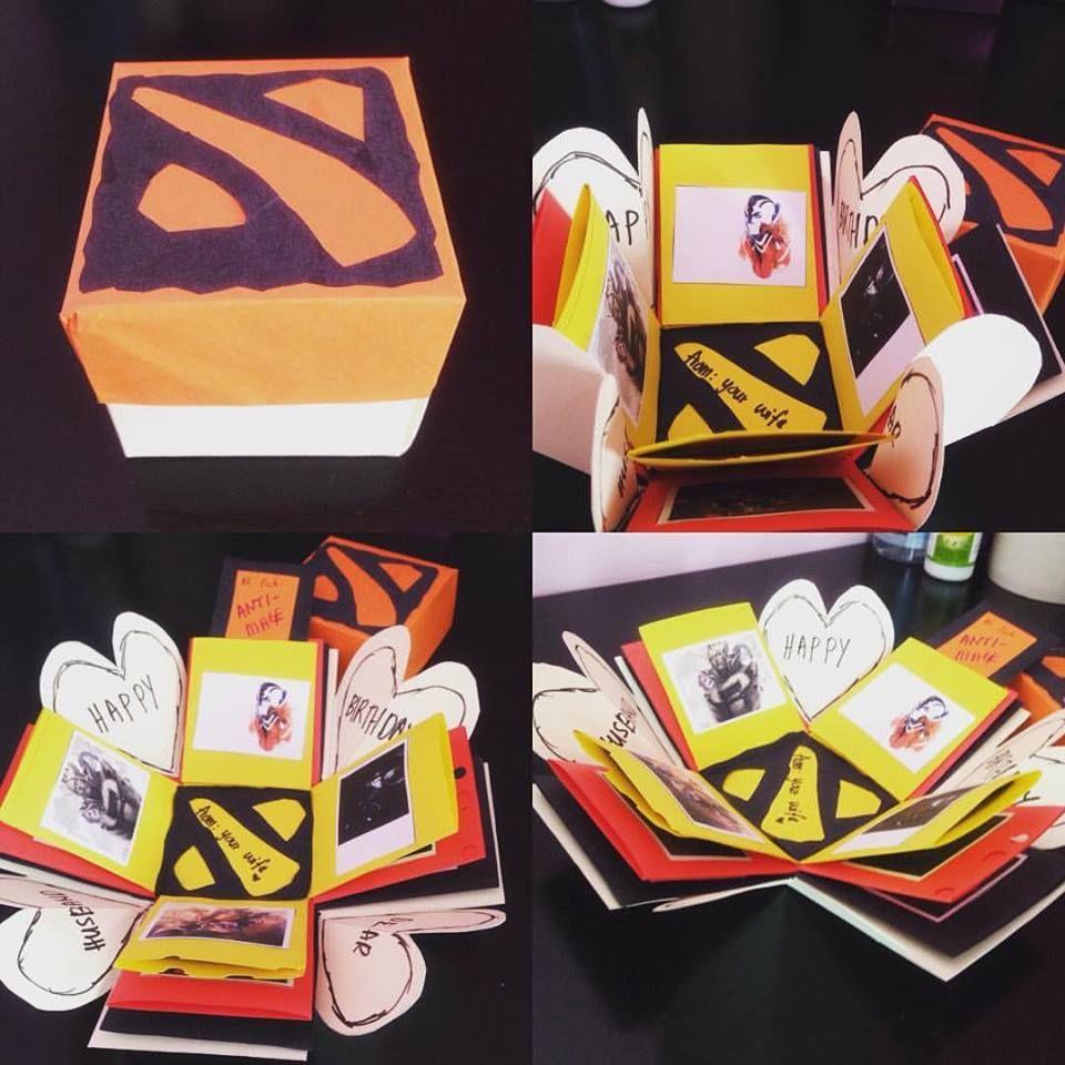 Dota2 explosion box birthday gift birthday gifts gifts