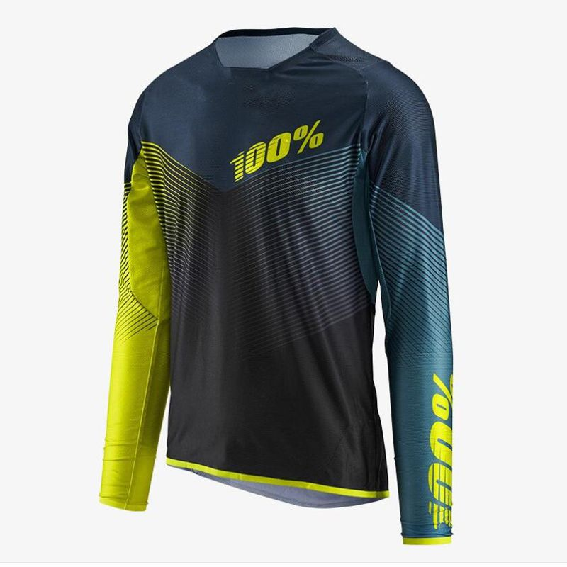 2018 Jerseys Motocross Racing Jersey Motocicleta Mtb Mountain Bike Downhill Dh Ciclismo Jersey Manga Larga Mtb Bike Mountain Bike Clothes Bike Jersey