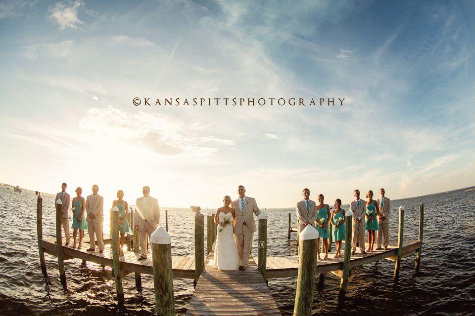 tania and josh | a destin bay house wedding