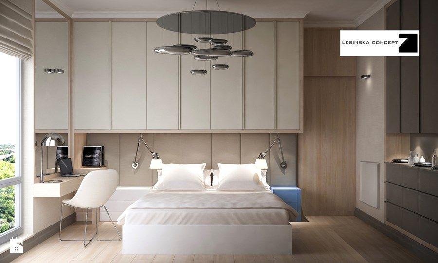 sypialnia styl nowoczesny sypialnia zdja™cie od lesinska concept