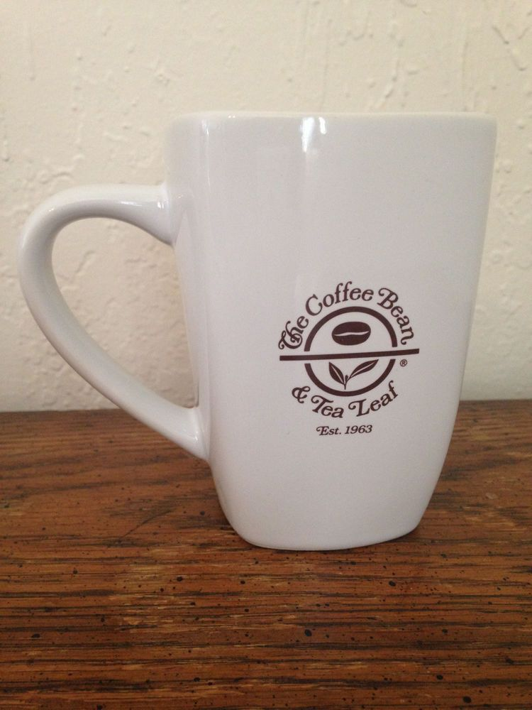 The Coffee Bean Tea Leaf White Mug Or Cup Hot Cocoa By Royal Summit Cafesito