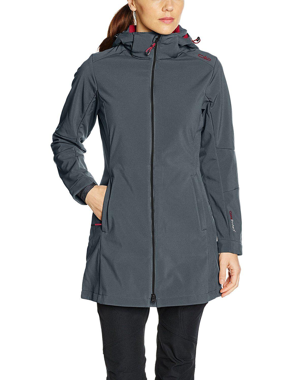 CMP Damen Softshell Mantel Outdoor Adventure, Outdoor