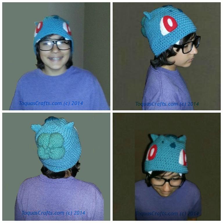 Bulbasaur (Pokémon) FreeBulb&EarsPattern pattern on Craftsy.com ...
