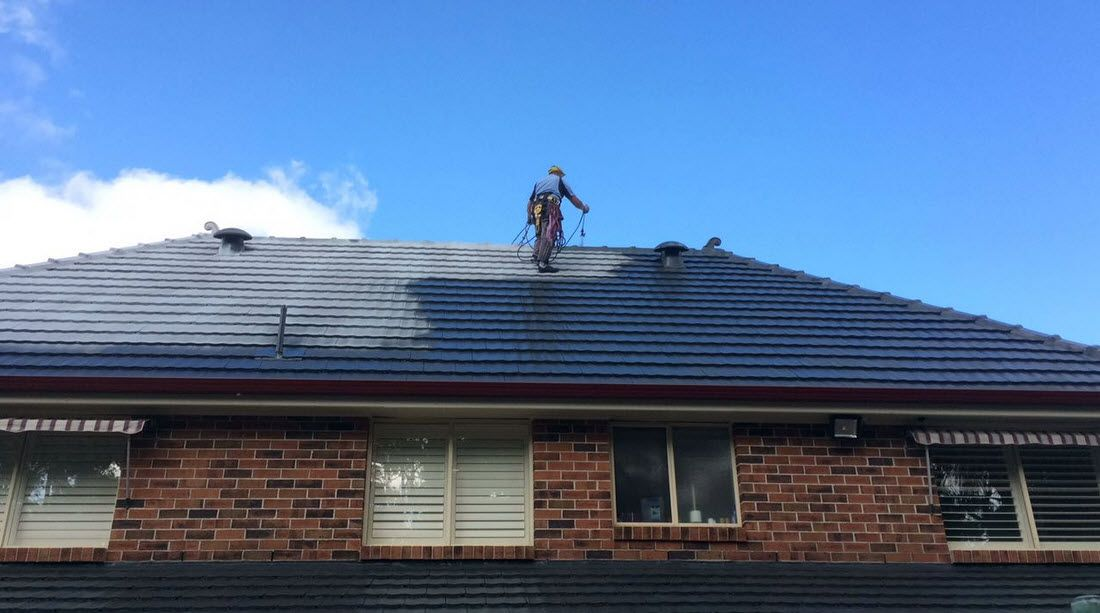 Some Will Want To Paint Their Roof To Change Its Color To Refresh Their Roof Before Selling Their Home For An Ex Roof Restoration Roof Paint Roofing Services