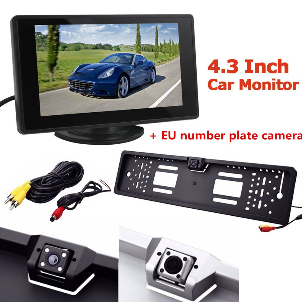 Hot Sale Car Rear View Camera Anti-fog Glass Backup Parking with EU ...