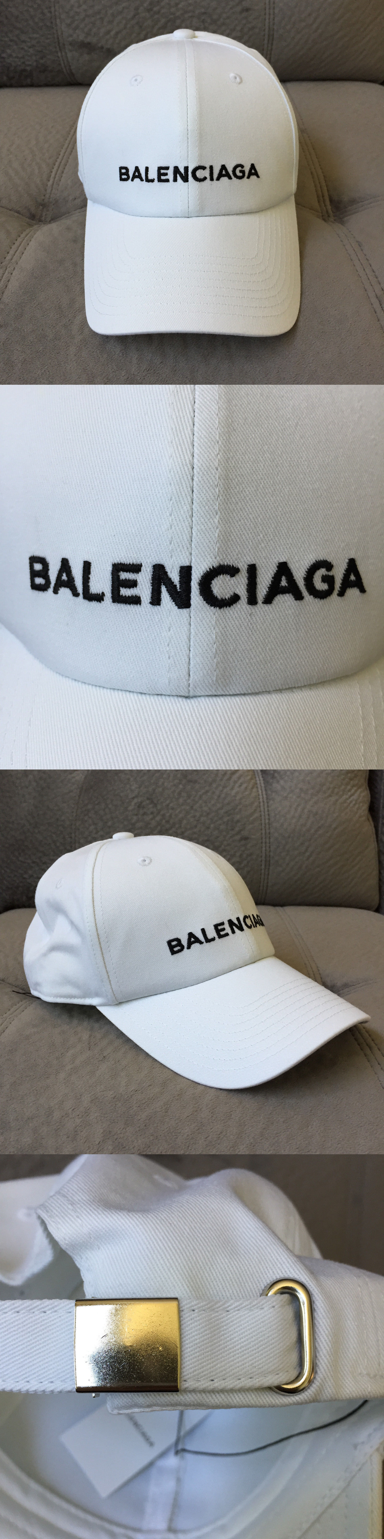 204b8235e7d76 Hats 163543  Custom Made New Unisex One Size Adjustable Balenciaga Baseball  Cap In White -  BUY IT NOW ONLY   44.99 on eBay!