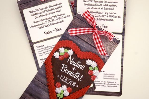 Einladungen Zur After Wedding Party Schneider S Family Business Einladungen Hochzeitseinladung Karte Hochzeit