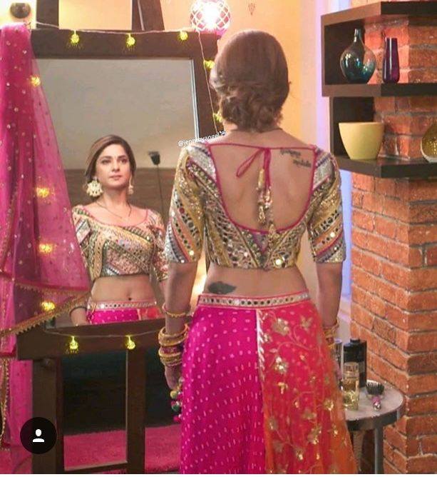 Pin By Noor On Everything Latest Indian Fashion Trends Jennifer Winget Tattoo Indian Bridal Fashion