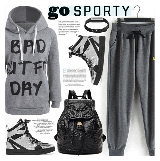 """Go Sporty!"" by katjuncica ❤ liked on Polyvore featuring Marc by Marc Jacobs"