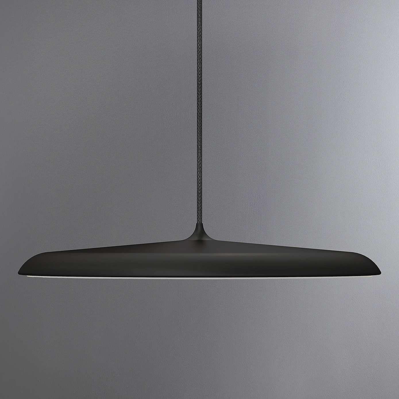 Artist Large Black LED Pendant Light Fitting & Artist Large Black LED Pendant Light Fitting | Dunelm | lighting ...