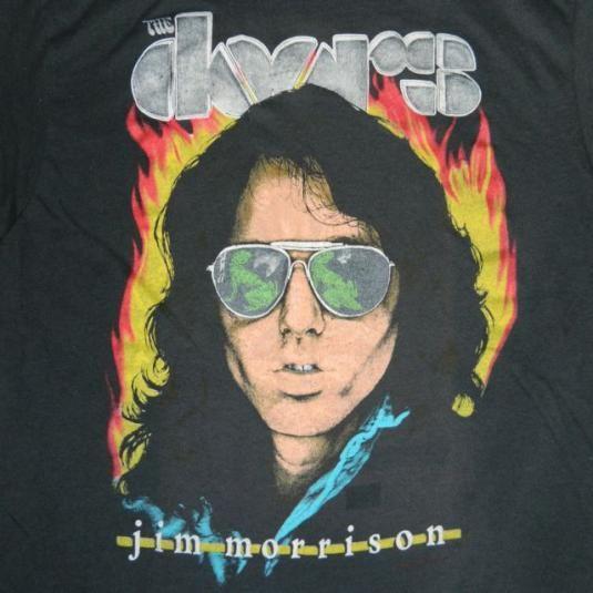 Printing  sc 1 st  Pinterest & Vintage THE DOORS JIM MORRISON 80S T-Shirt | band tees | Pinterest ...