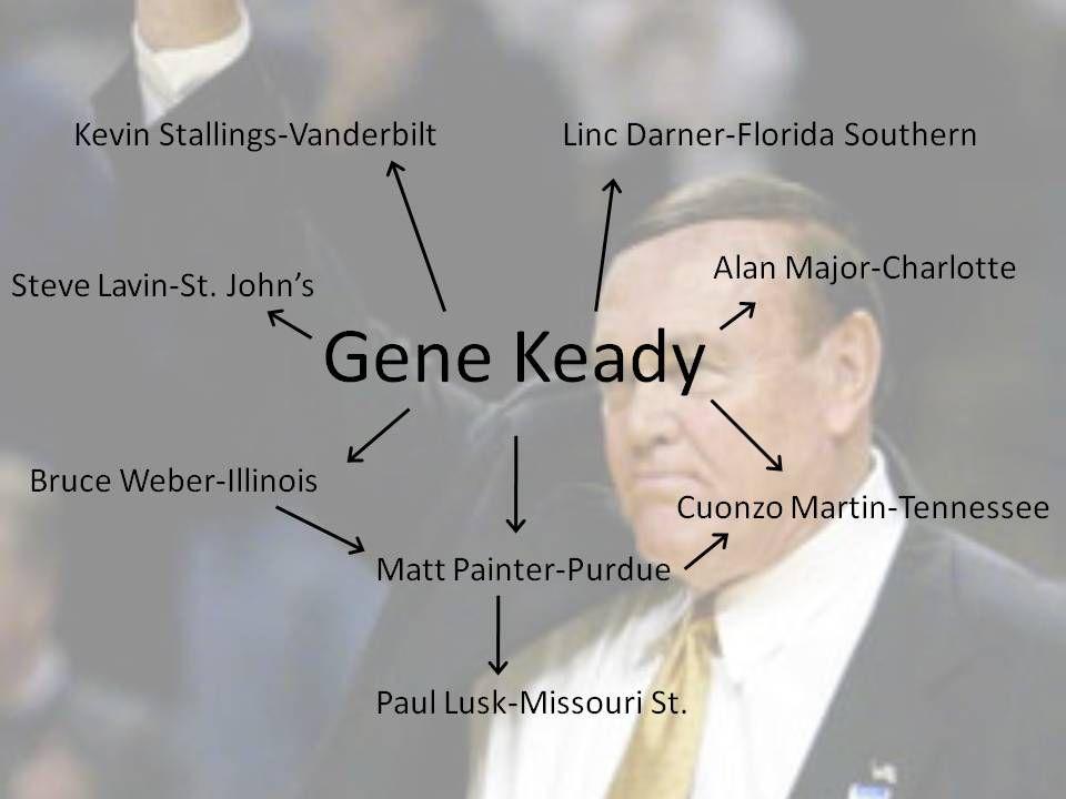 Gene keady wedding