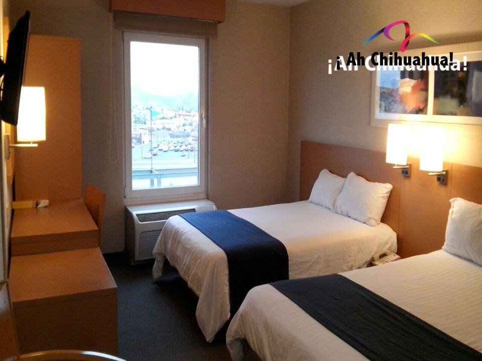 TURISMO EN CHIHUAHUA. En nuestro HOTEL SNTENARIO CHIHUHUA, contamos con confortables habitaciones dobles o suites; las cuales le incluyen desayuno, internet inalámbrico y llamadas locales o con 01(800). También, contamos con alberca y restaurante. Comuníquese con nosotros y reserve al teléfono (614)481 0099 o en nuestra página web http://www.hotelsntenario.com  #turismoenchihuahua