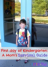 eLeMeNO-P Kids: First Day of Kindergarten: A Mom's Survival Guide