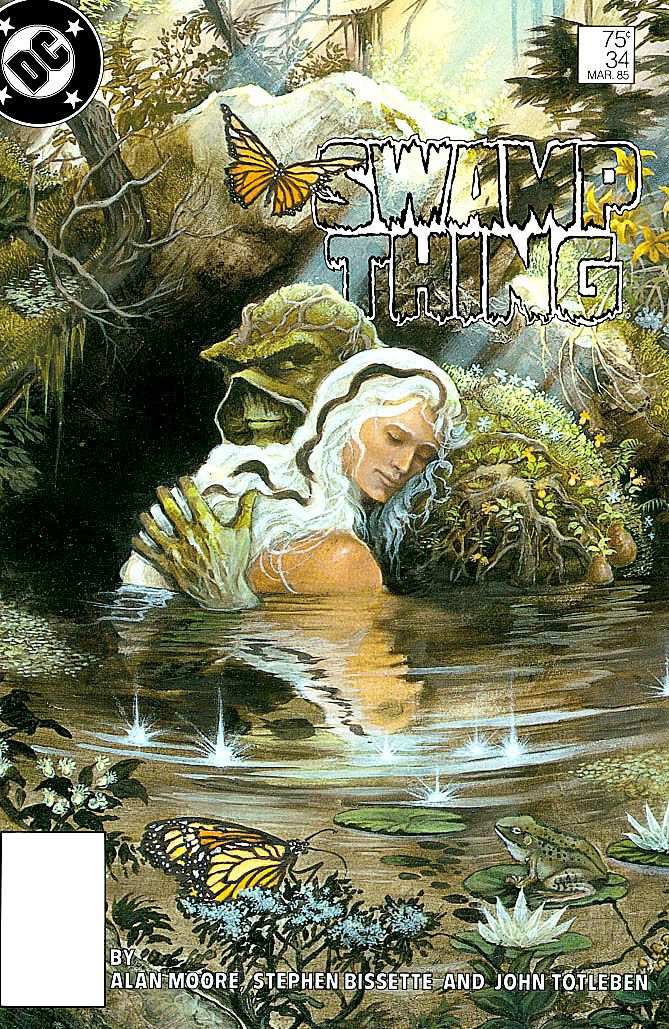 Swamp thing and Abby Arcane by Stephen Bbissette & John ...