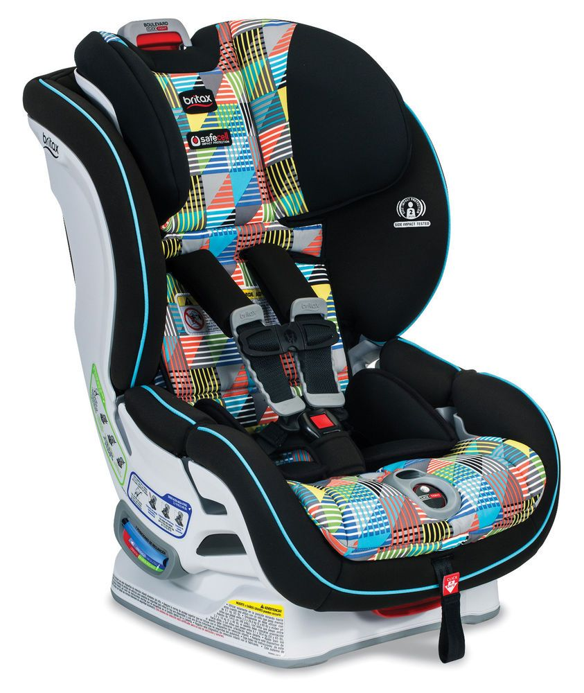 Details About Britax Boulevard Clicktight Car Seat In Vector Brand New Baby Car Seats Car Seats Britax